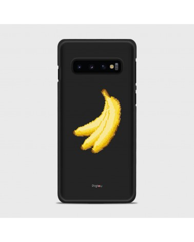 BANANE PIXELATE (D151) Cover Samsung Galaxy S10 - Pigtou
