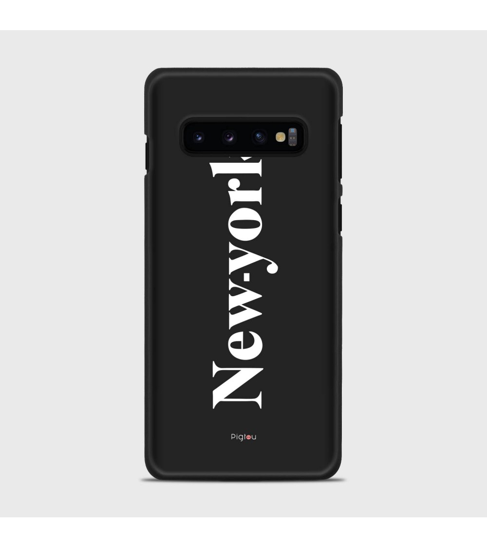 NEW YORK (D141) Cover Samsung Galaxy S10 - Pigtou