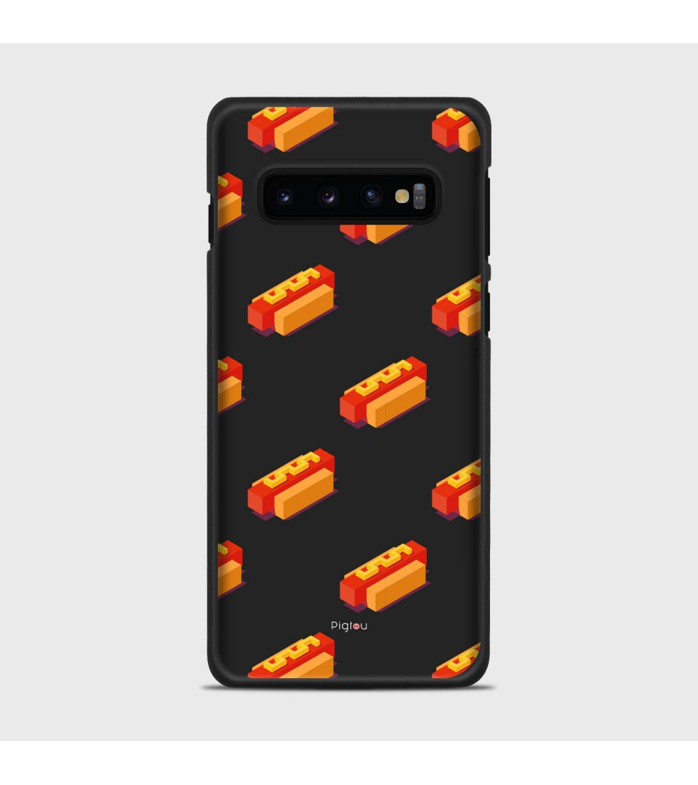 HOT DOG (D117) Cover Samsung Galaxy S10 - Pigtou