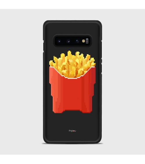 PATATINE FRITTE (D129) Cover Samsung Galaxy S10 Plus - Pigtou