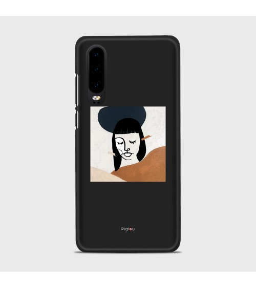 DIPINTO VISO (D166) Cover Huawei P40 Pro - Pigtou
