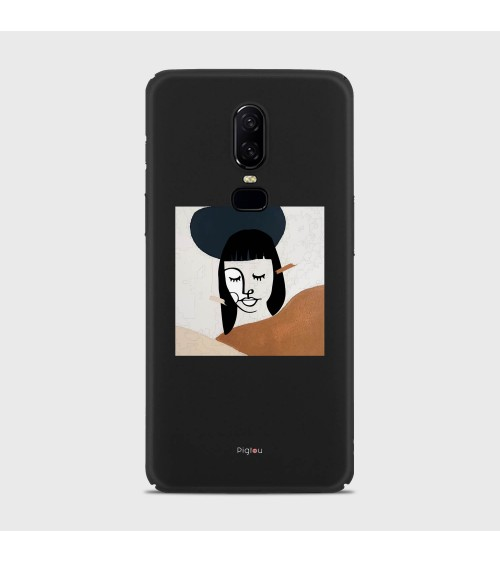 DIPINTO VISO (D166) Cover OnePlus 8 Pro - Pigtou