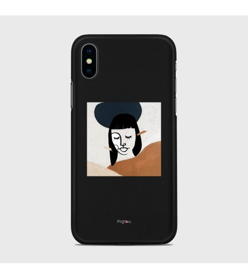 DIPINTO VISO (D166) Cover iPhone Xs - Pigtou