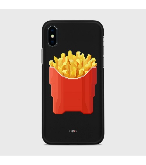 PATATINE FRITTE (D129) Cover iPhone Xs - Pigtou