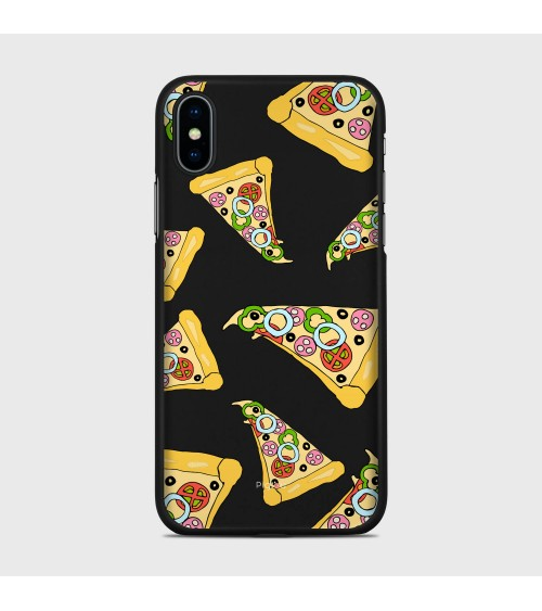 PIZZA (D102) Cover iPhone Xs - Pigtou