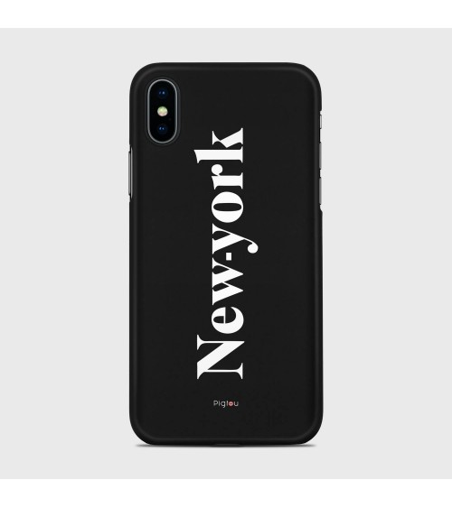 NEW YORK (D141) Cover iPhone Xs - Pigtou