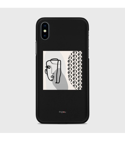 QUADRO ASTRATTO (D161) Cover iPhone Xs - Pigtou