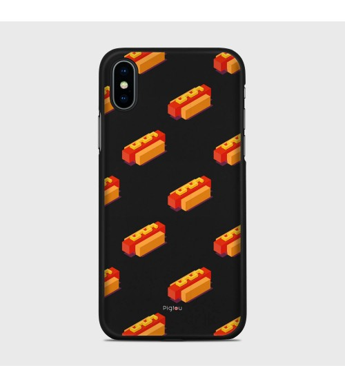 HOT DOG (D117) Cover iPhone Xs - Pigtou