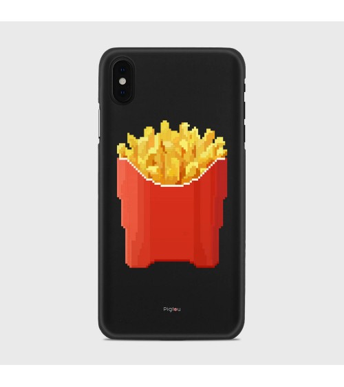 PATATINE FRITTE (D129) Cover iPhone Xs Max - Pigtou