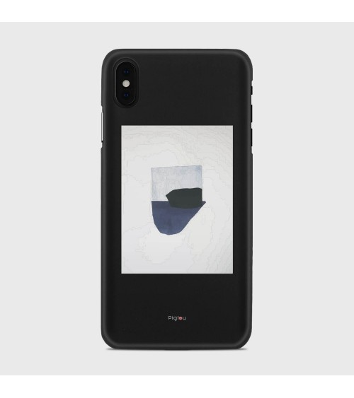 FANTASIA NAVY (D173) Cover iPhone Xs Max - Pigtou