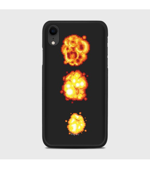 ESPLOSIONE PIXELATA (D78) Cover iPhone Xr - Pigtou