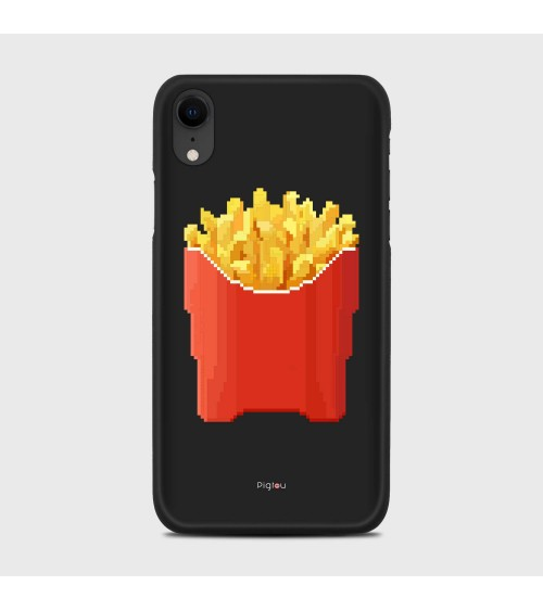 PATATINE FRITTE (D129) Cover iPhone Xr - Pigtou