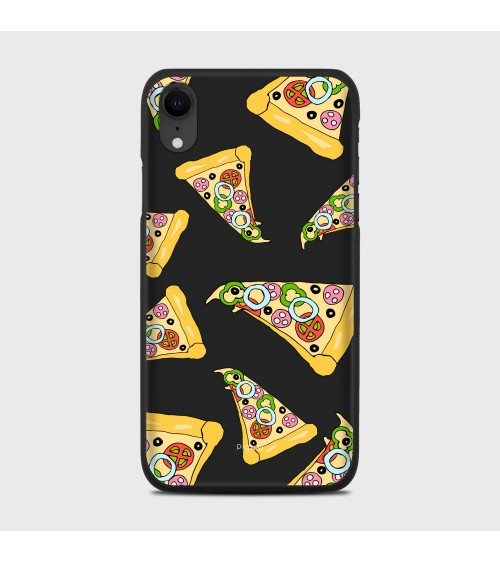 PIZZA (D102) Cover iPhone Xr - Pigtou