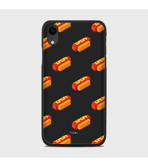 HOT DOG (D117) Cover iPhone Xr - Pigtou